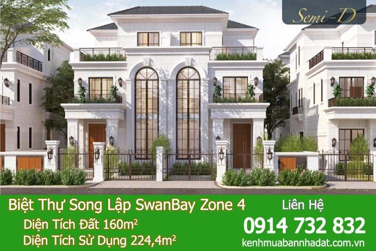 Dự Án Swan Bay Zone 4 - Khu La Maison ( Khu Zone 4 )