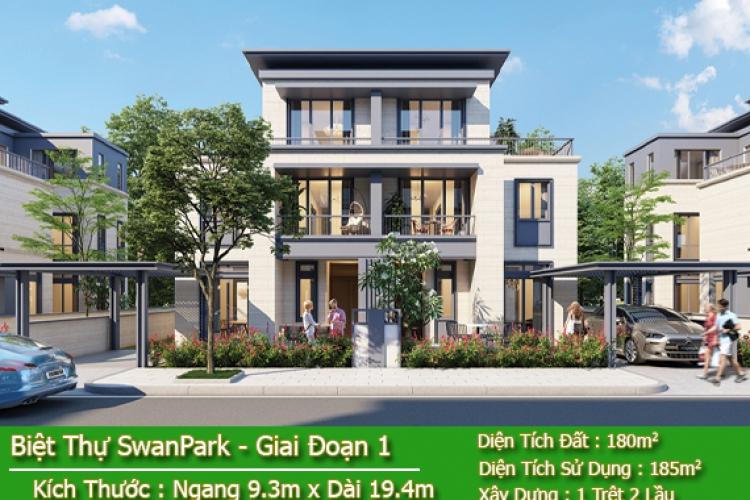 Nhà Phố Biệt Thự Swan Park Giai Đoạn 1 - Mở Bán Đợt Cuối Tháng 04/2020